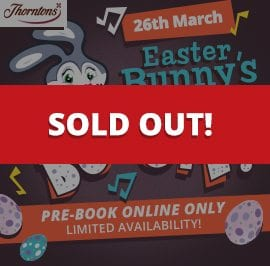 Easter Bunnys Boogie 2016 - sold out