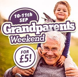 Grandparents Weekend 5pounds - 10th -11th Sep