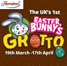 Easter Bunny Grotto -19th March - 17th April