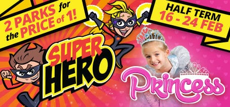 Hero Princess Feb Half Term